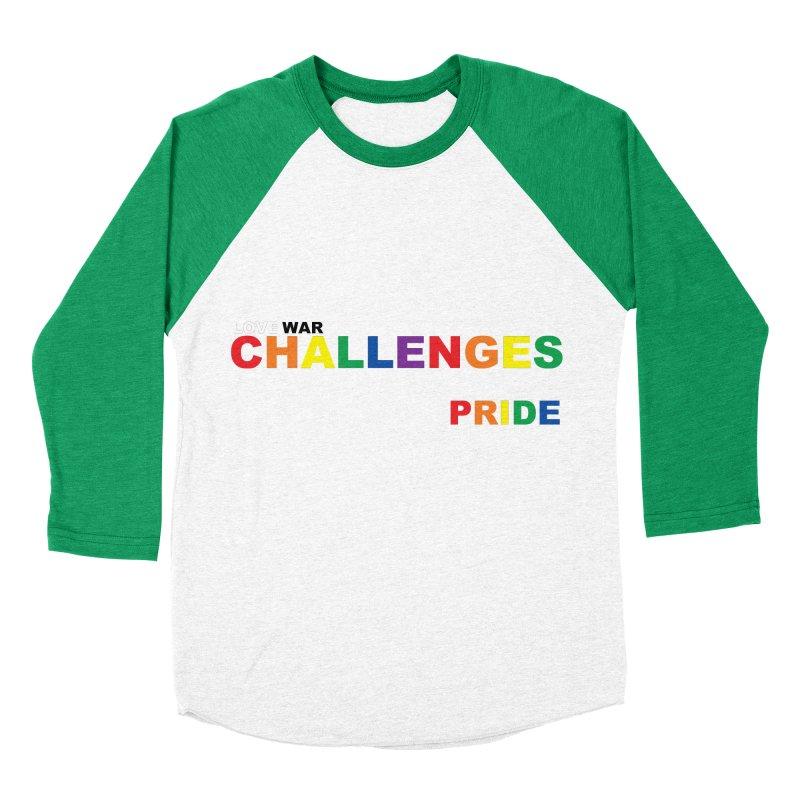 LWC PRIDE Women's Baseball Triblend Longsleeve T-Shirt by Shop LWC