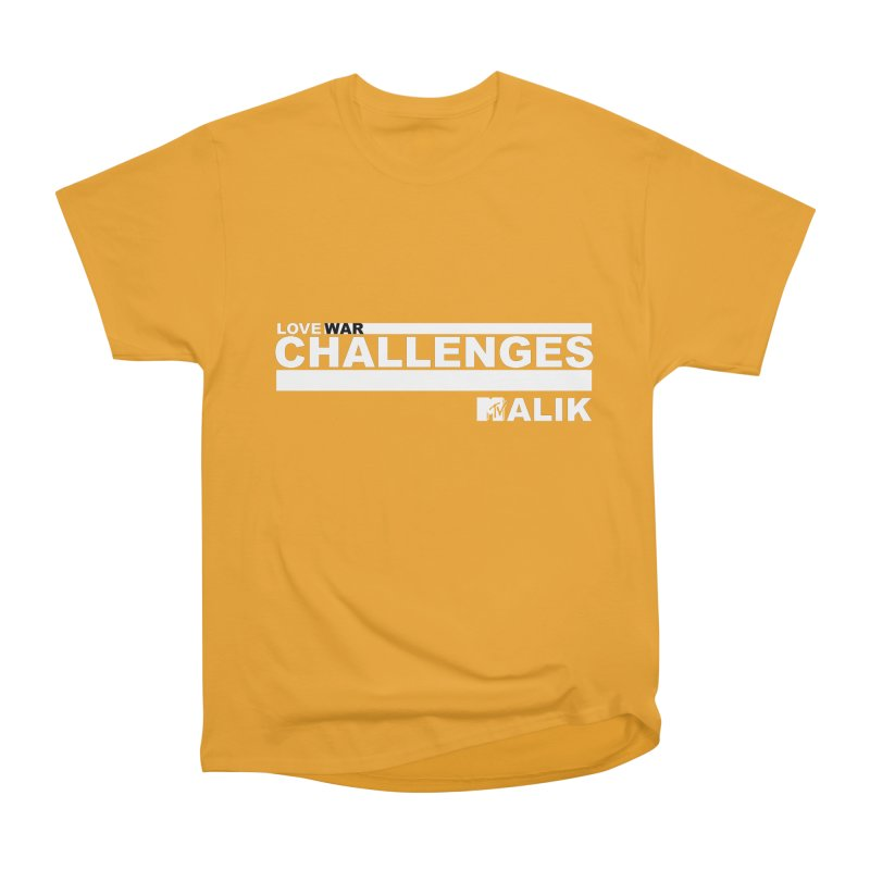 LWC MALIK Men's Heavyweight T-Shirt by Shop LWC