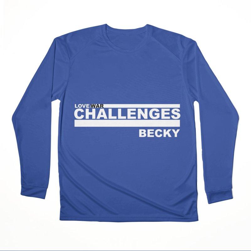 LWC BECKY Men's Performance Longsleeve T-Shirt by Shop LWC