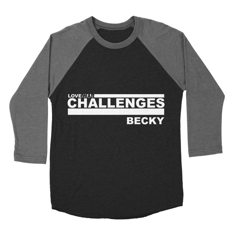 LWC BECKY Women's Baseball Triblend Longsleeve T-Shirt by Shop LWC