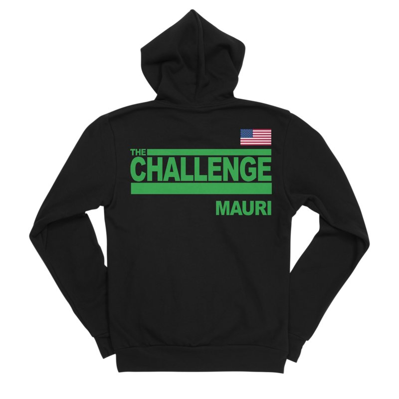 MAURI - TOTAL MADNESS Men's Zip-Up Hoody by Shop LWC