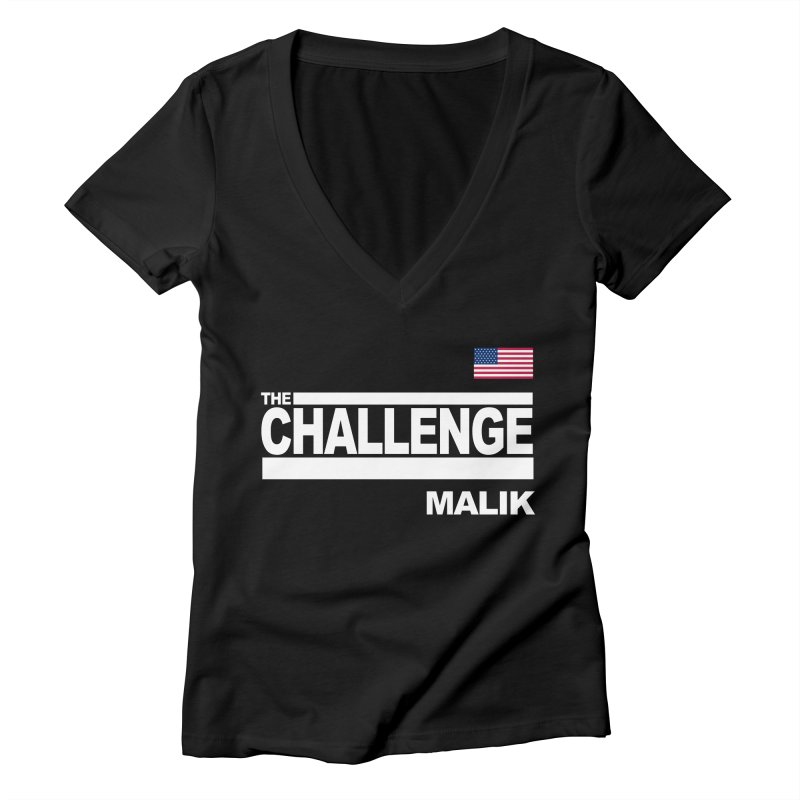 MALIK - CLASSIC Women's V-Neck by Shop LWC