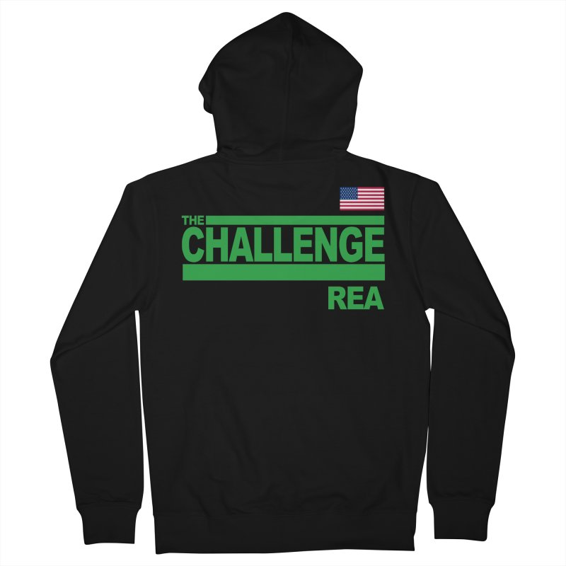 REA - TOTAL MADNESS Men's Zip-Up Hoody by Shop LWC