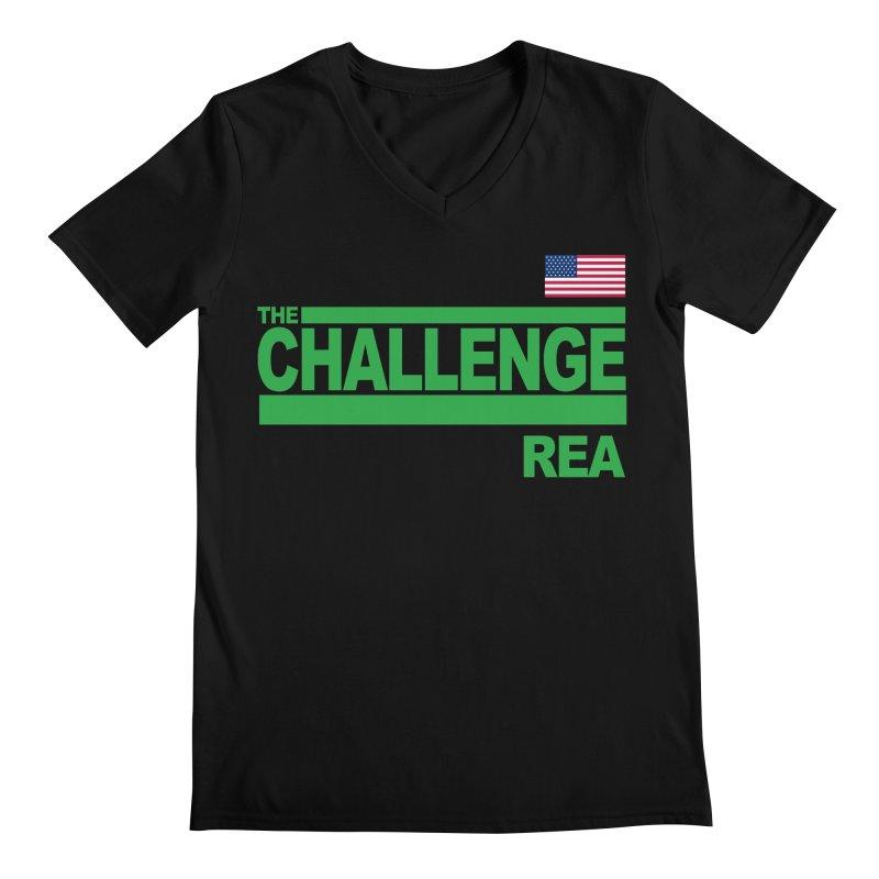 REA - TOTAL MADNESS Men's V-Neck by Shop LWC