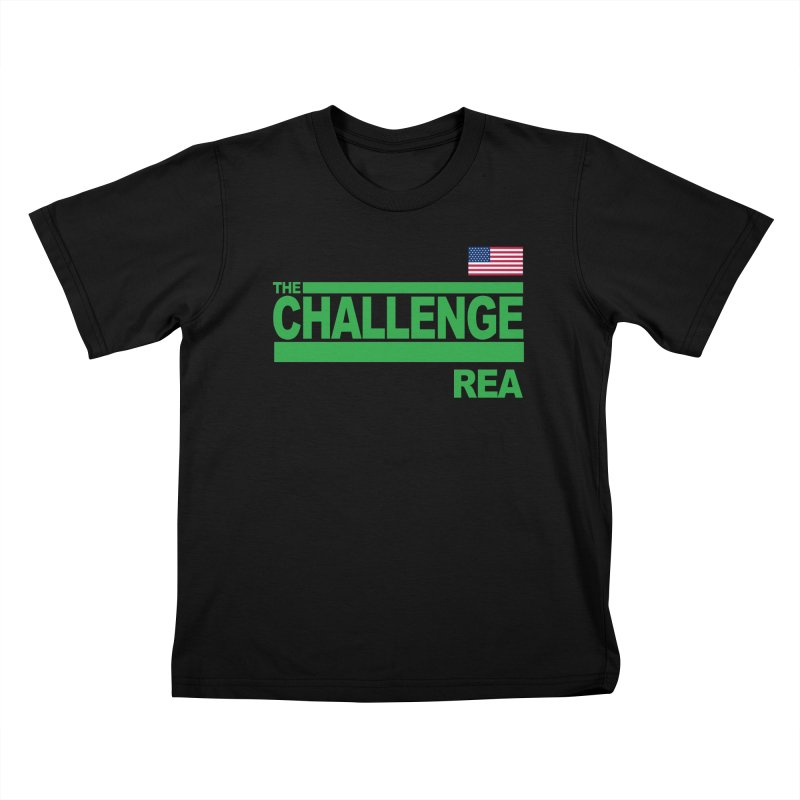 REA - TOTAL MADNESS Kids T-Shirt by Shop LWC