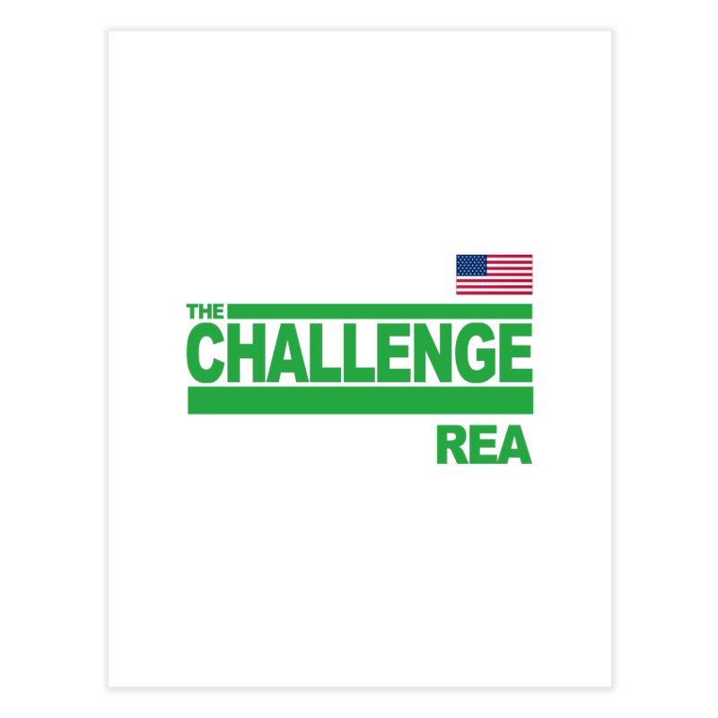 REA - TOTAL MADNESS Home Fine Art Print by Shop LWC