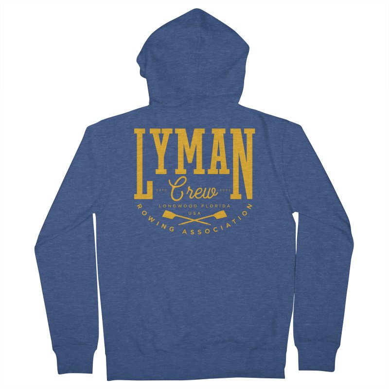 lyman athletic Women's Zip-Up Hoody by Lyman Rowing's Artist Shop
