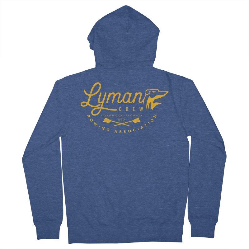 Lyman Dog Script Women's Zip-Up Hoody by Lyman Rowing's Artist Shop