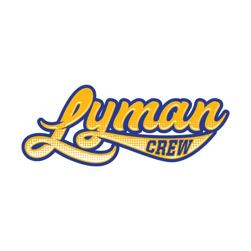 Lyman Athletic Script Men's T-Shirt by Lyman Rowing's Artist Shop