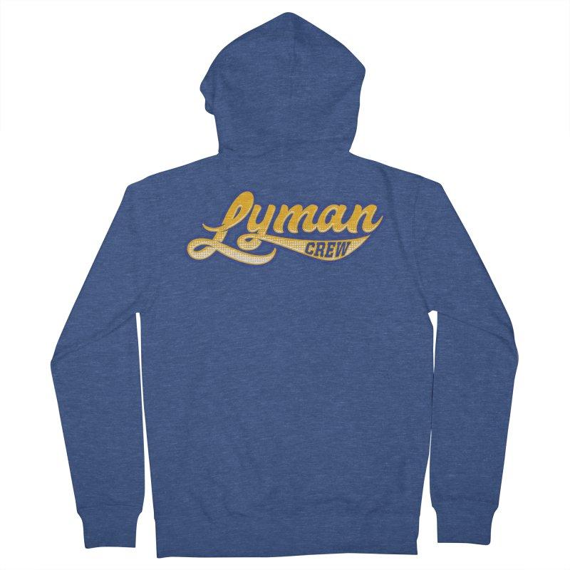 Lyman Athletic Script Women's Zip-Up Hoody by Lyman Rowing's Artist Shop
