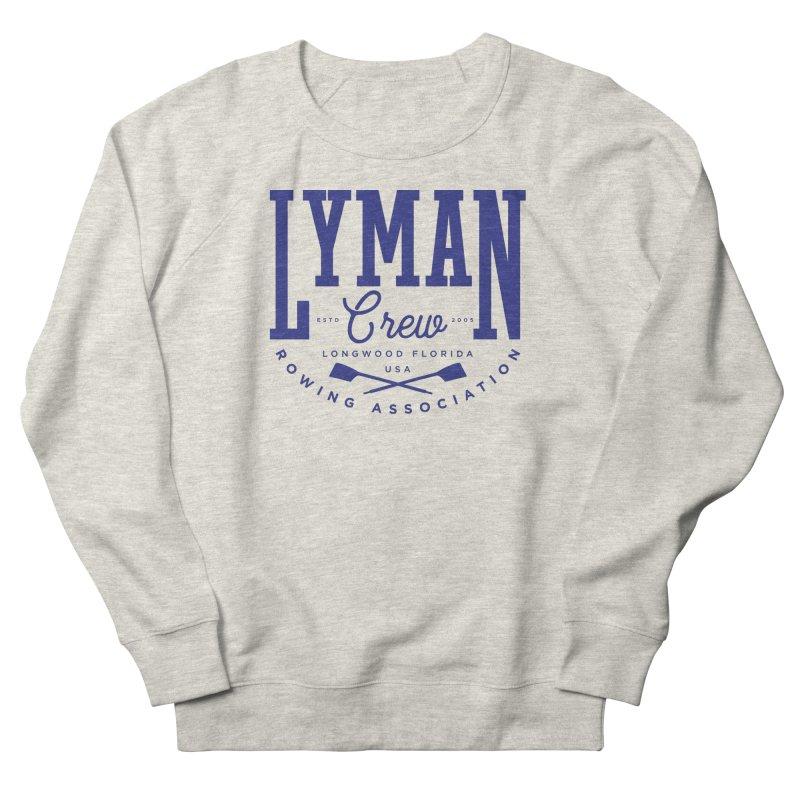 lyman athletic (blue) Men's Sweatshirt by Lyman Rowing's Artist Shop