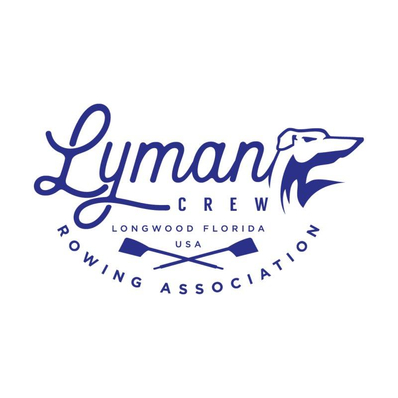 Lyman Dog Script Blue Women's T-Shirt by Lyman Rowing's Artist Shop