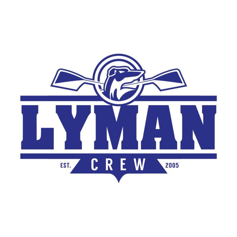 Lyman Crew Blue Men's T-Shirt by Lyman Rowing's Artist Shop