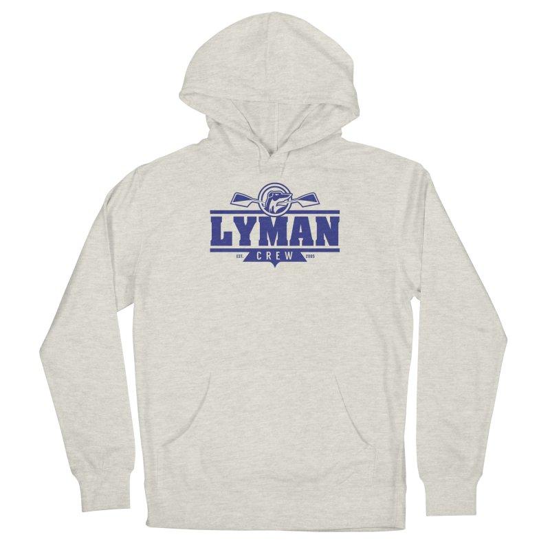 Lyman Crew Blue Men's Pullover Hoody by Lyman Rowing's Artist Shop