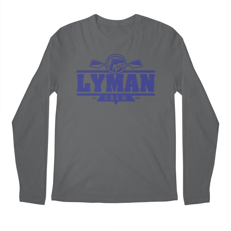 Lyman Crew Blue Men's Longsleeve T-Shirt by Lyman Rowing's Artist Shop