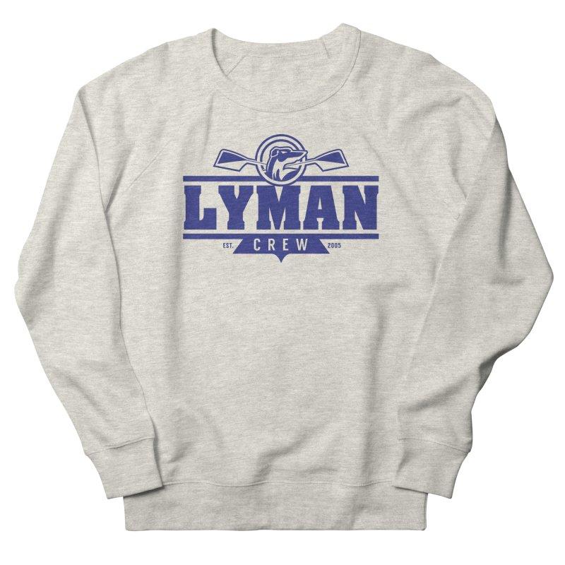 Lyman Crew Blue Men's Sweatshirt by Lyman Rowing's Artist Shop