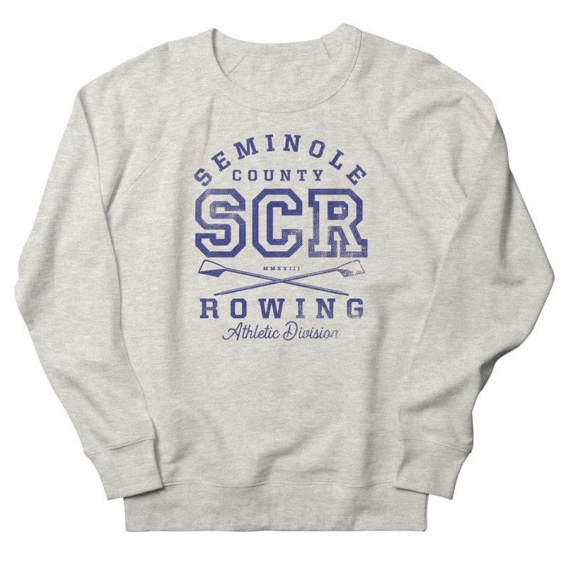 SCR Athletic (Blue) Men's Sweatshirt by Lyman Rowing's Artist Shop