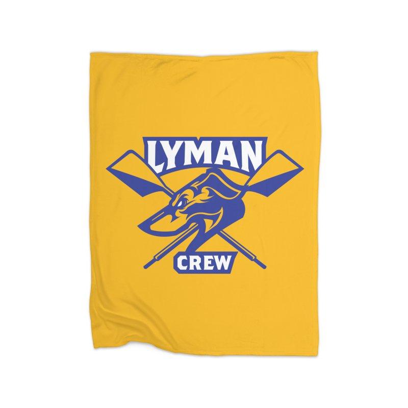 Yellow Blanket in Fleece Blanket Blanket by Lyman Rowing's Artist Shop