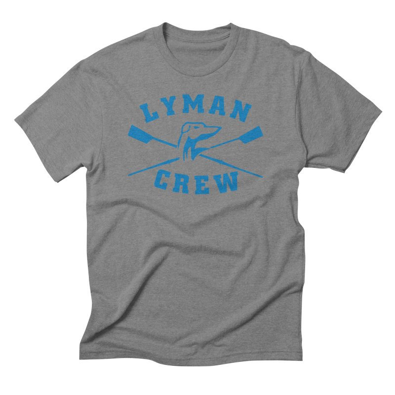 Classic in Men's Triblend T-Shirt Grey Triblend by Lyman Rowing's Artist Shop
