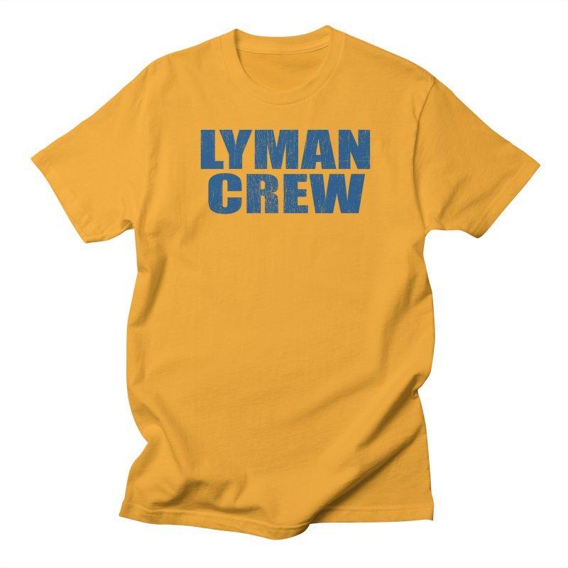Classic 2 in Men's Regular T-Shirt Gold by Lyman Rowing's Artist Shop