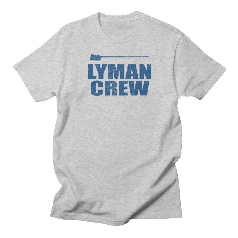 classic 3 in Men's Regular T-Shirt Heather Grey by Lyman Rowing's Artist Shop
