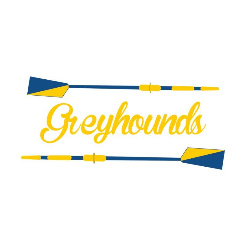 Greyhounds Cursive Women's T-Shirt by Lyman Rowing's Artist Shop