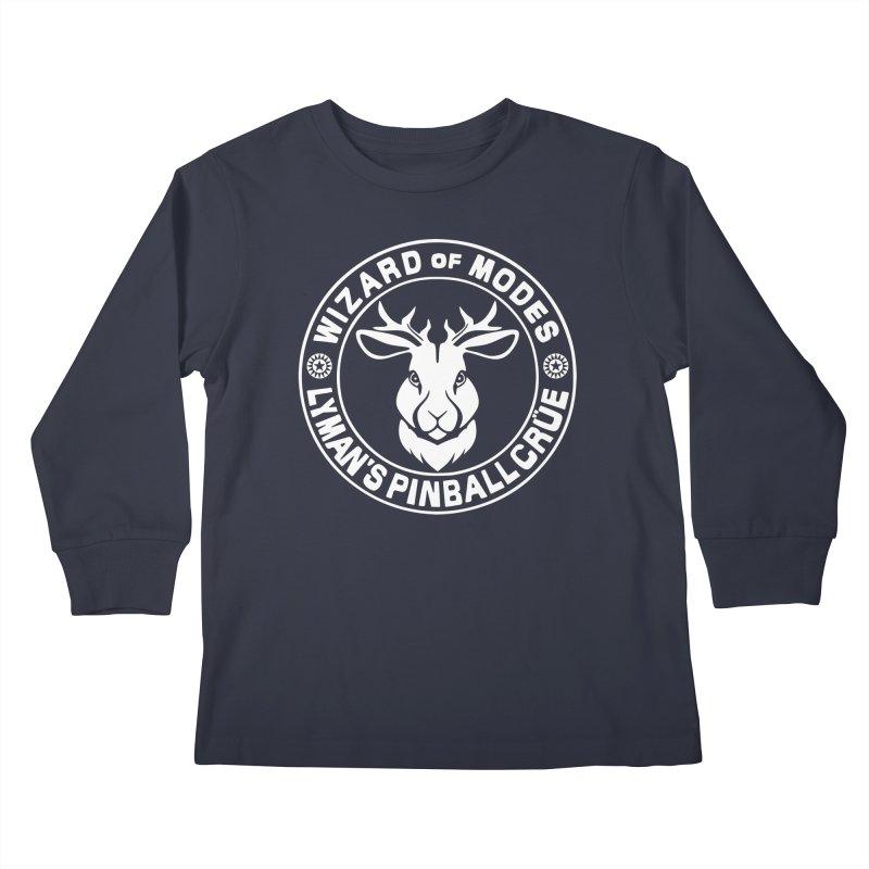 Wizard of Modes Kids Longsleeve T-Shirt by Lymans Tavern