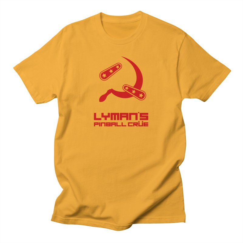 Flipper and Sickle Men's T-Shirt by Lymans Tavern