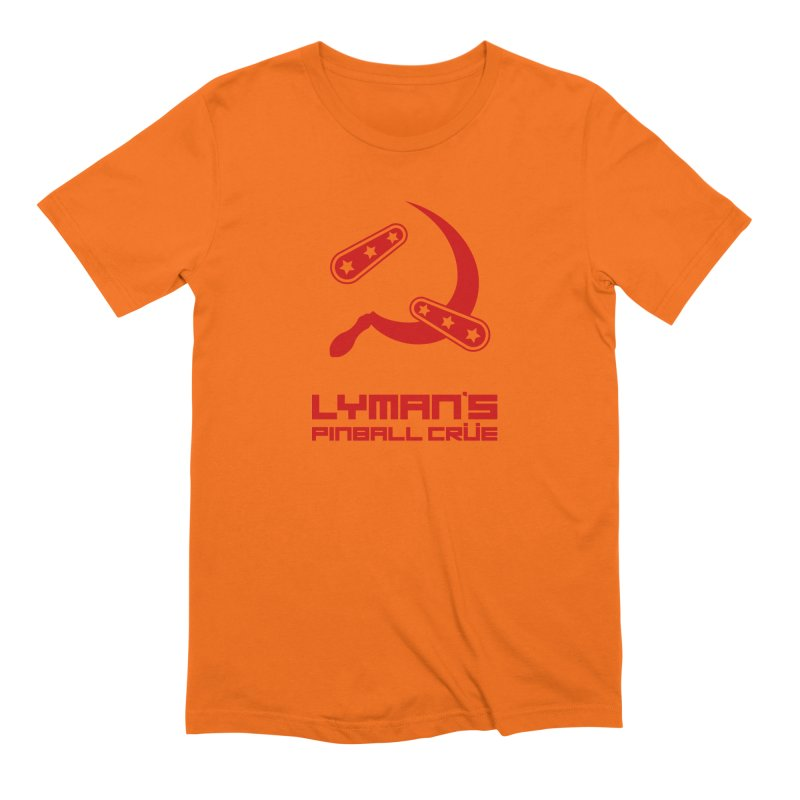 Flipper and Sickle Men's Extra Soft T-Shirt by Lymans Tavern