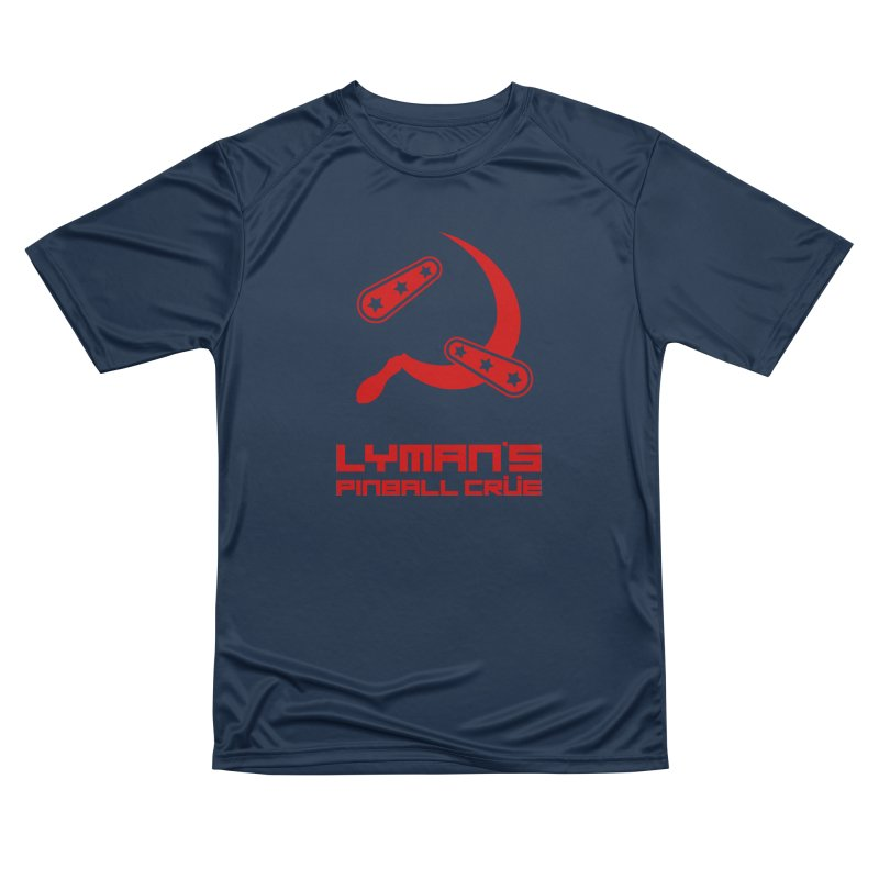 Flipper and Sickle Women's Performance Unisex T-Shirt by Lymans Tavern