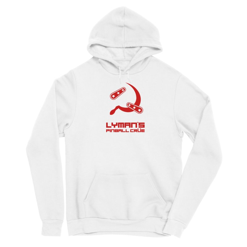 Flipper and Sickle Men's Sponge Fleece Pullover Hoody by Lymans Tavern