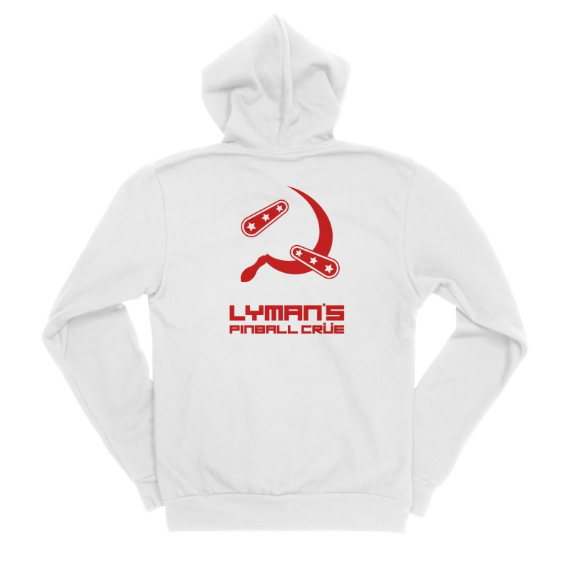 Flipper and Sickle Women's Zip-Up Hoody by Lymans Tavern