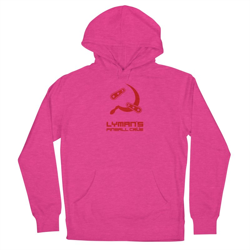 Flipper and Sickle Men's French Terry Pullover Hoody by Lymans Tavern