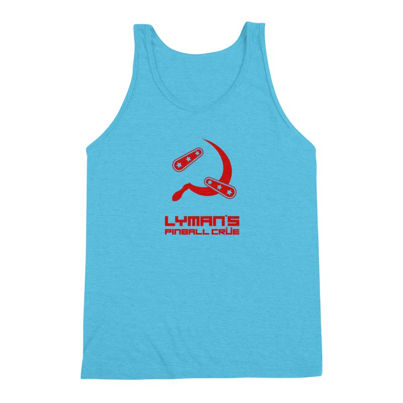 Flipper and Sickle Men's Triblend Tank by Lymans Tavern