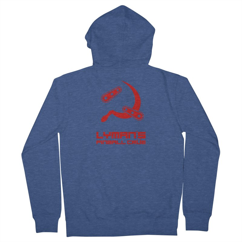 Flipper and Sickle Men's Zip-Up Hoody by Lymans Tavern