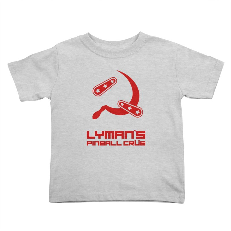 Flipper and Sickle Kids Toddler T-Shirt by Lymans Tavern