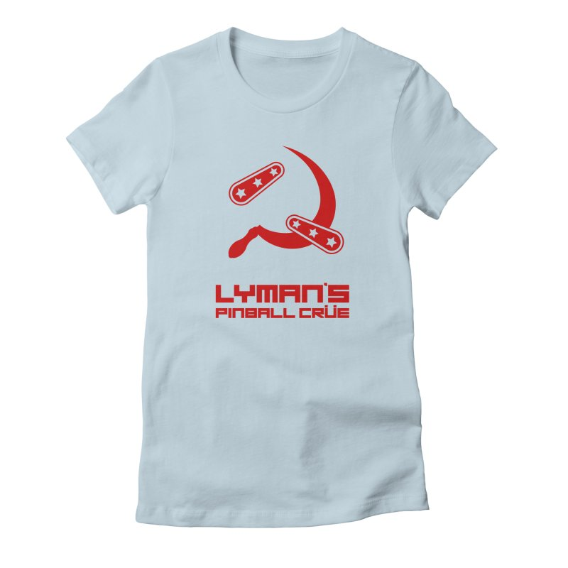 Flipper and Sickle Women's T-Shirt by Lymans Tavern