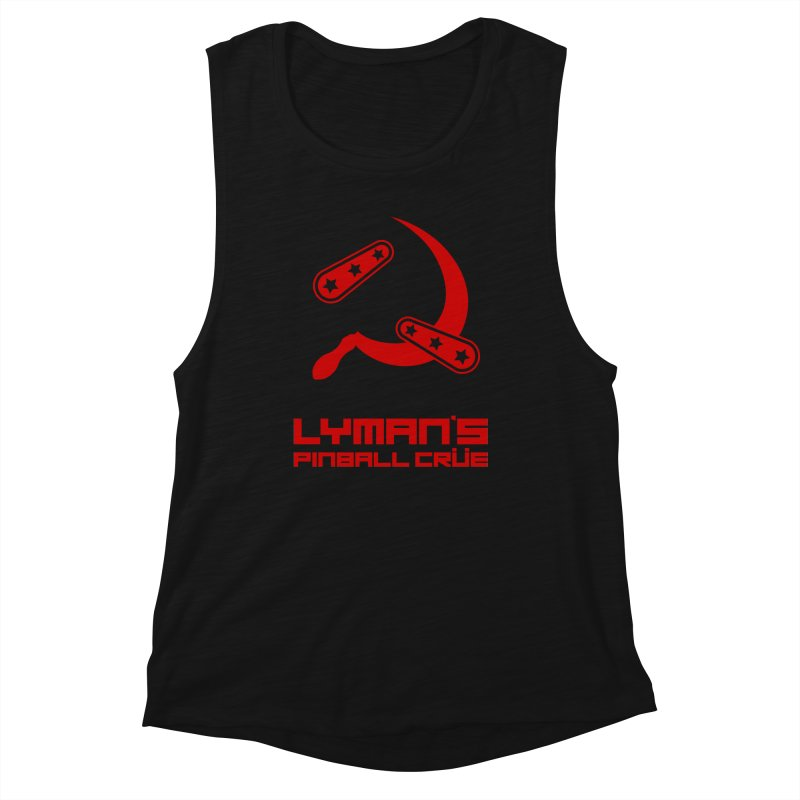Flipper and Sickle Women's Tank by Lymans Tavern