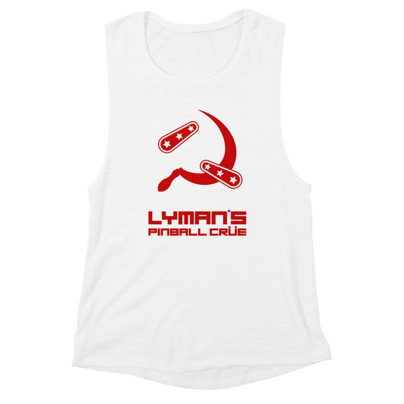 Flipper and Sickle Women's Muscle Tank by Lymans Tavern
