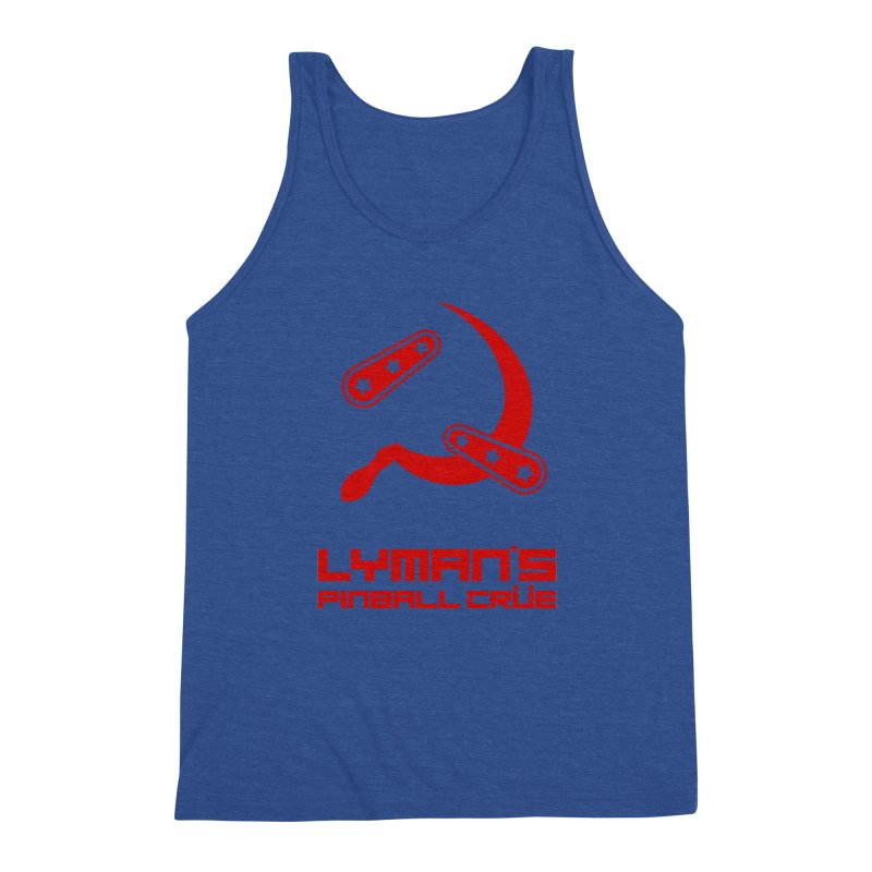 Flipper and Sickle Men's Tank by Lymans Tavern