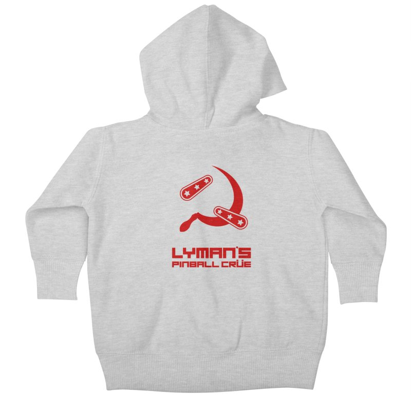 Flipper and Sickle Kids Baby Zip-Up Hoody by Lymans Tavern