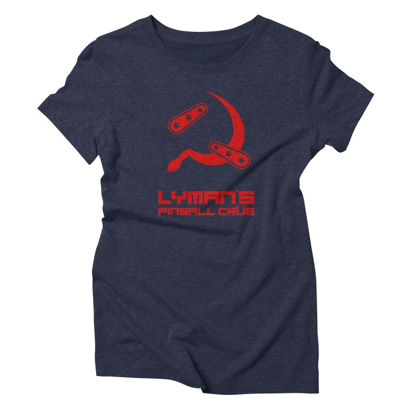 Flipper and Sickle Women's Triblend T-Shirt by Lymans Tavern