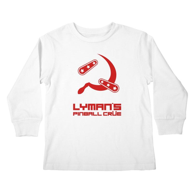 Flipper and Sickle Kids Longsleeve T-Shirt by Lymans Tavern