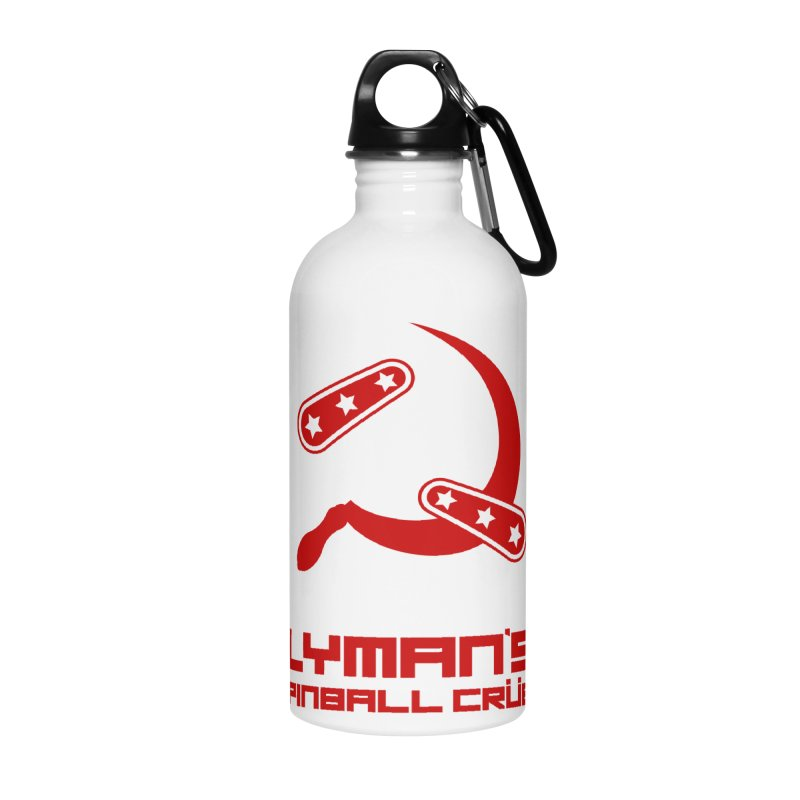Flipper and Sickle Accessories Water Bottle by Lymans Tavern