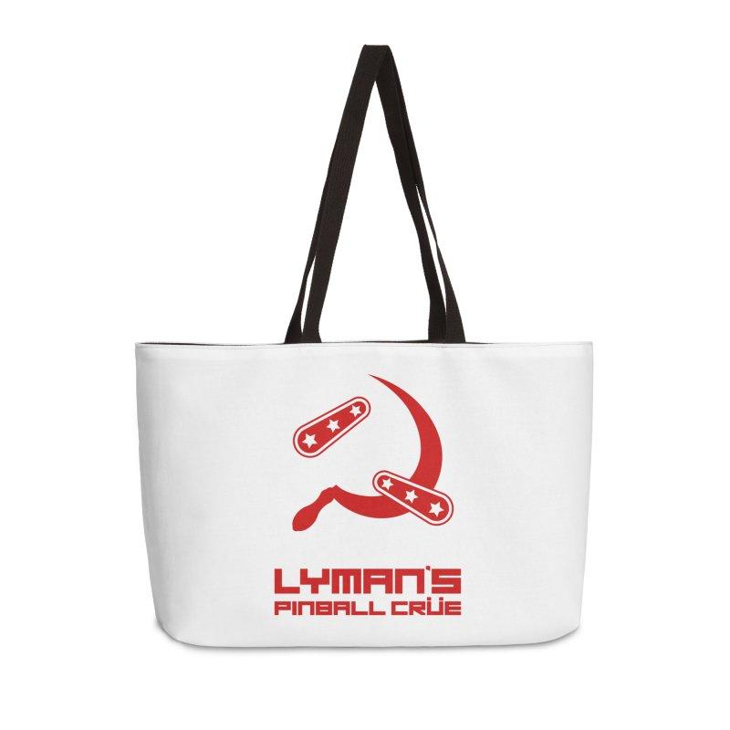 Flipper and Sickle Accessories Weekender Bag Bag by Lymans Tavern
