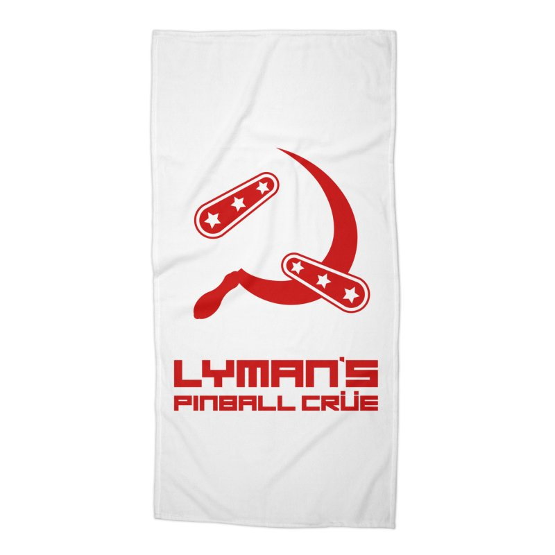 Flipper and Sickle Accessories Beach Towel by Lymans Tavern