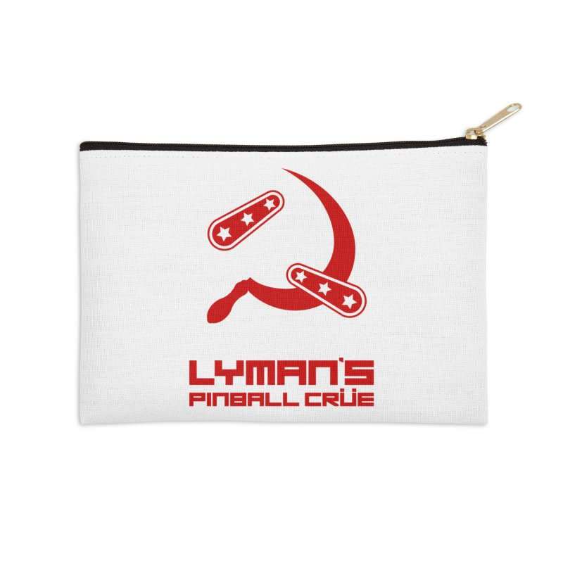Flipper and Sickle Accessories Zip Pouch by Lymans Tavern