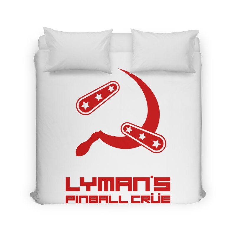 Flipper and Sickle Home Duvet by Lymans Tavern