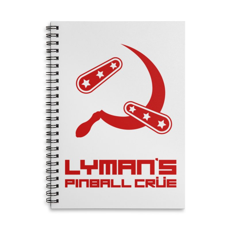 Flipper and Sickle Accessories Notebook by Lymans Tavern