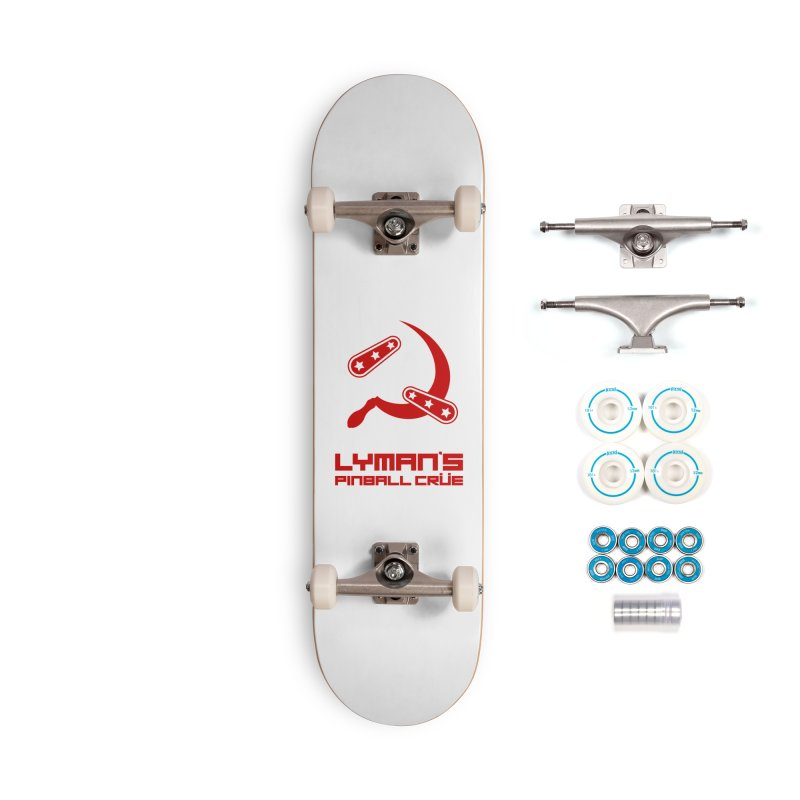 Flipper and Sickle Accessories Complete - Basic Skateboard by Lymans Tavern